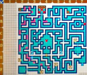 【世界樹の迷宮X(クロス)】第三迷宮「原始ノ大密林 B2F」/マップ・地図・ボス情報【SQX攻略ブログ】