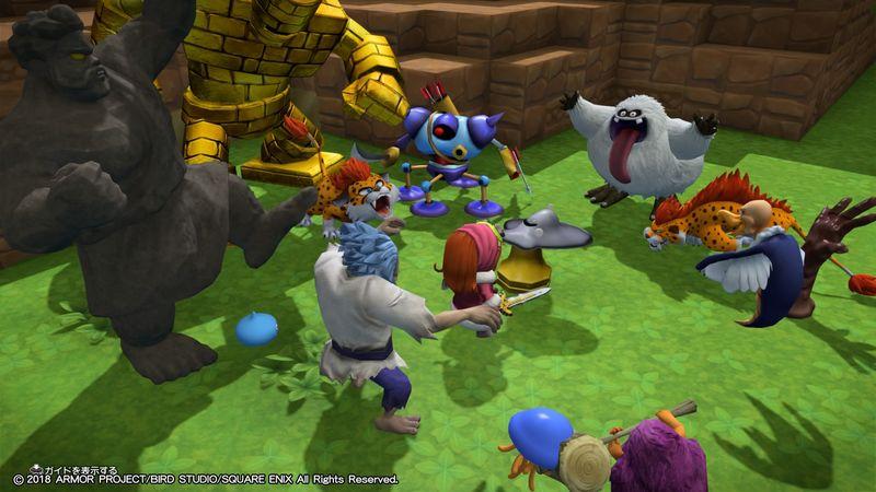 【ドラクエビルダーズ2】色んなモンスターを集めよう/仲間になるモンスター 一覧・まとめ【DQB2攻略】
