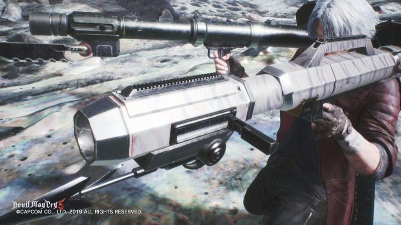 【DMC5】隠し武器!究極連装の最終兵器『ダブルカリーナアン』の入手方法・入手場所詳細【デビルメイクライ5 攻略】