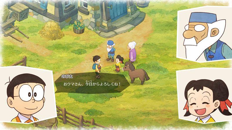 【ドラえもん のび太の牧場物語】攻略プレイ日記13/ウマを飼う!馬の入手方法/リスが登場/たずね人ステッキも