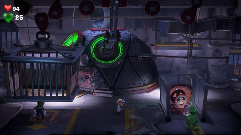 【ルイージマンション3 攻略】鉄格子の檻から出るには…!グーイージの実験・特訓・操作方法・『テラータワー』解放