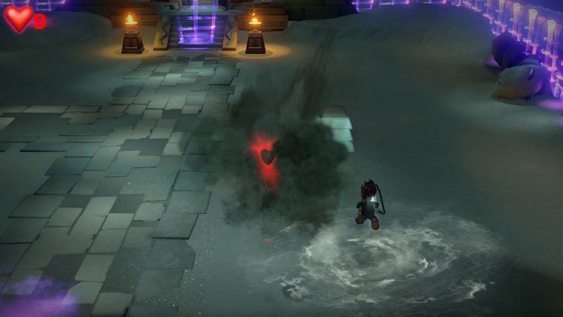【ルイージマンション3 攻略】10階デザートフロア・ピラミッド攻略・秤の仕掛け、蛇女王のボスオバケ倒し方など