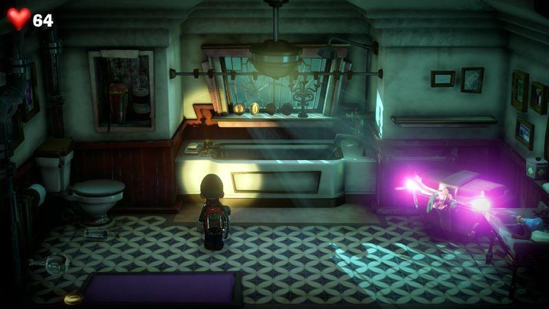 【ルイージマンション3 攻略】11階マジックフロア・ワープ迷路の正解ルート・マジシャンのボスオバケ倒し方など