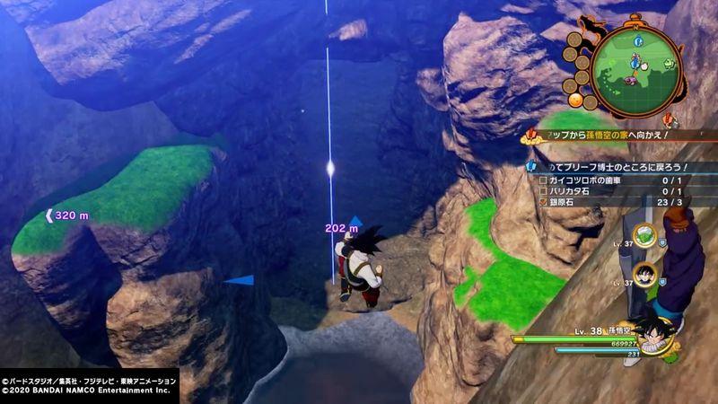 【ドラゴンボールZ カカロット攻略】バリカタ石・ガイコツロボの歯車・銀原石の入手場所【サブクエ「マイペースな天才」】
