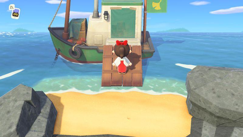 【あつ森】「つねきち」が来ない?船に入れない?つねきち解放条件!…フラグを立てるには…