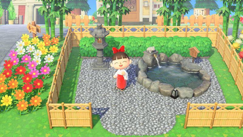 【あつ森】和風の地面マイデザイン『砂利』/作品ID【Animal Crossing Designs】