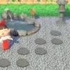 【あつ森】和風の地面マイデザイン『飛び石』/作品ID【Animal Crossing Designs】