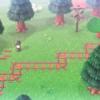 【あつ森】マイデザイン『線路』/作品ID【Animal Crossing Designs/train tracks】