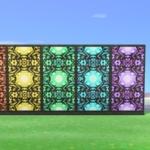 【あつ森マイデザイン】『ステンドグラス』・シンプルなパネル用/作品ID【Animal Crossing Designs/Stained glass】