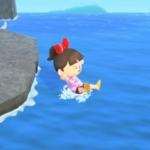 【あつ森】アプデ Ver.1.3.0で海開き!マリンスーツ3つの入手方法。海に潜るには!海の幸の入手方法!