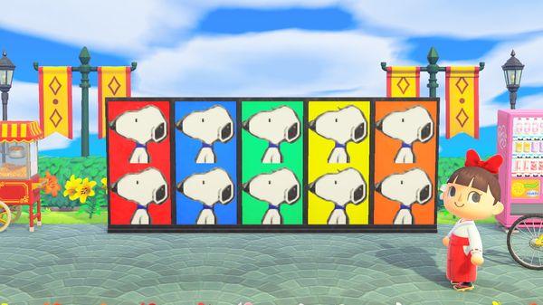 【あつ森】マイデザイン『スヌーピー』【Animal Crossing Designs/SNOOPY】