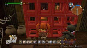【ドラクエビルダーズ2体験版】「赤い格子」がある隠しエリアに入る方法・壁すり抜けの裏技・動画あり【DQB2攻略】